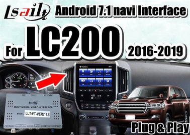 Lsailt multimedia video Interface with built-in IOS/Android CarPlay for Land Cruiser 2016-2019 LC200