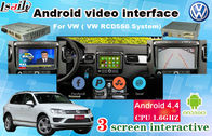 Van de de Interfacenavigatie van VW SKODA GPS Android Autotouch screen 6,5 Duim RCD550