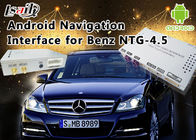 China De Klasse NTG 4,5 GPS-van de de Interfacedoos van Navigatieandroid de Autosteun WiFi BT Mirrorlink van Mercedes-Benz E fabriek