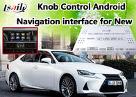 China De hoge snelheid Android 6,0 de Videointerface van Lexus voor IS, Reservecamerainterface fabriek
