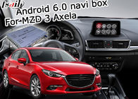 China Mazda 3 van de Interfaceandroid van Axela Video de Navigatiedoos met Mazda-Knopcontrole Facebook fabriek
