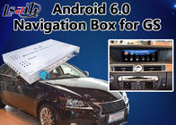 China Android 6,0 Videointerface voor de muisversie van Lexus GS 2014-2018, Autogps Navigatiedoos Mirrorlink GS450h GS350 fabriek