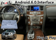 China Android 6,0 de Videonavigatie van Interfacegps voor 2012-2017 Nissan Patrol fabriek