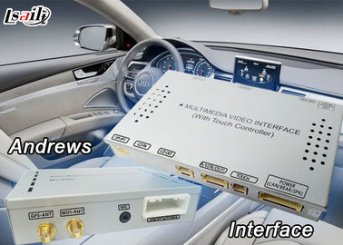 China 3G MMI DVR Auto Android 6,0 Video de Interfacedoos van het Navigatiesysteem voor AUDI A8 verdeler