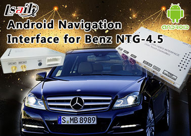 China De Klasse NTG 4,5 GPS-van de de Interfacedoos van Navigatieandroid de Autosteun WiFi BT Mirrorlink van Mercedes-Benz E verdeler