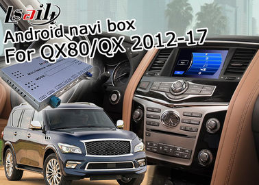 China Infiniti QX80/de Autointerface van QX Android, Android-Auto Audio-interface met Spiegelverbinding verdeler
