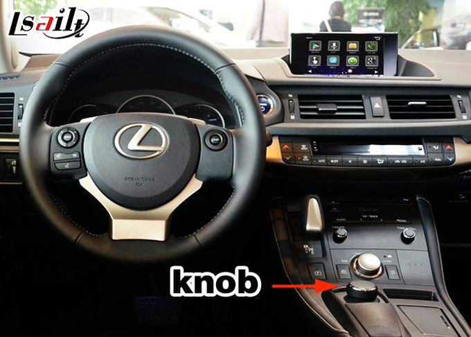 Android 6,0 Video de Interfacekostuum van Lexus voor 2012 of recenter CT steun4k Videospel